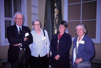 (L to R) Eric Mills, Anita McConnell, Jane Insley, Margaret Deacon
